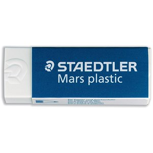Image of Staedtler Mars Plastic Eraser / Self-cleaning / Pack of 20