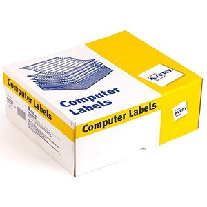 Image of Avery Computer Labels / One Wide on Web / 102x37mm / 6423/1 / 10000 Labels