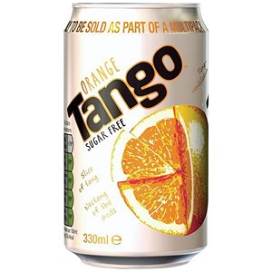 Image of Tango Diet Orange - 24 x 330ml Cans