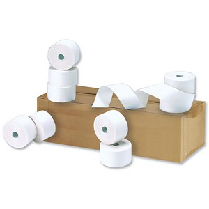Image of 5 Star Printing Paper Rolls / WxDxCore: 44x80x17.5mm / White / Pack of 20