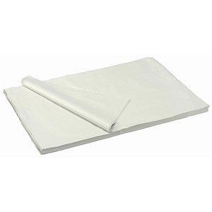Image of Acid Free Tissue Paper Packing Sheets / 17gsm / 500x750mm / White / Pack of 480