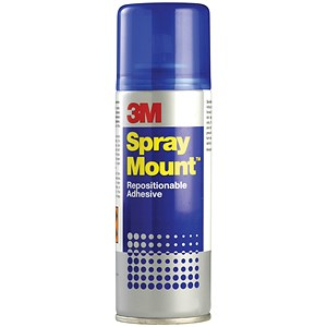 Image of 3M SprayMount Adhesive Spray Can - 400ml