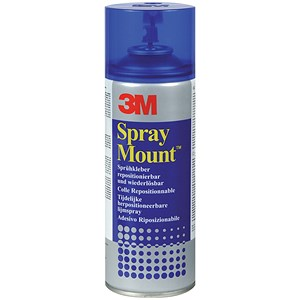 Image of 3M SprayMount Adhesive Spray Can - 200ml
