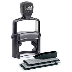 Image of Trodat Professional 5253 D-I-Y Stamp Kit / Black
