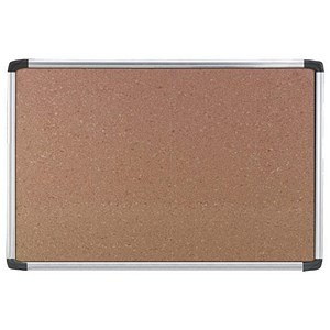 Image of Nobo Euro Plus Noticeboard / Cork / Aluminium Trim / W924xH615mm