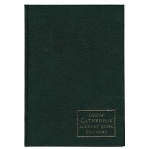 Image of Collins D540 Double Entry Minute Account Book - 192 Pages