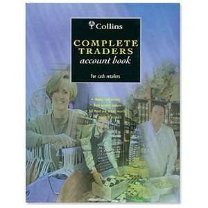 Image of Collins 4161 Complete Traders Account Book / 160 Pages / Ref: CT305