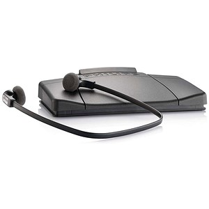 Image of Philips Transcription Kit Software Headset 234 Foot Control 210 Web Licence Ref LFH7177/04