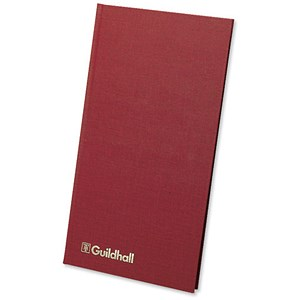 Image of Guildhall Petty Cash Book / 1 Debit, 7 Credit / 80 Pages