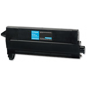 Image of Lexmark C9202CH Cyan Laser Toner Cartridge
