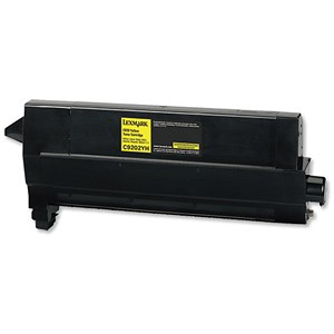 Image of Lexmark C9202YH Yellow Laser Toner Cartridge