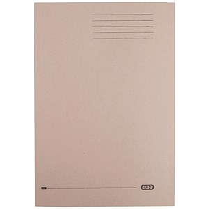 Image of Elba Square Cut Folder / Recycled / 290gsm / Foolscap / Buff / Pack of 100