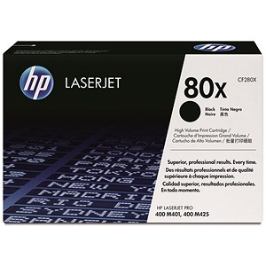Image of HP 80X Black Laser Toner Cartridge