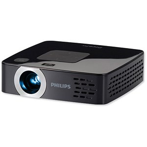 Image of Philips PicoPix PPX3414 Pocket Projector - 140 Lumens With Integrated MP4 Player