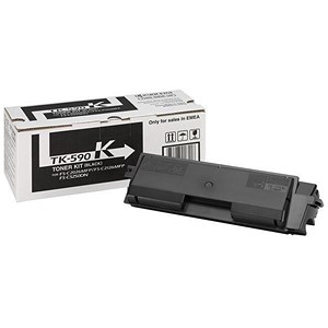 Image of Kyocera TK-590K Black Laser Toner Cartridge
