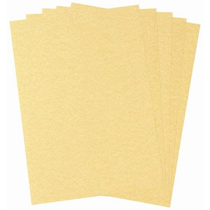 Image of A4 Parchment Paper / Gold / 100gsm / 100 Sheets