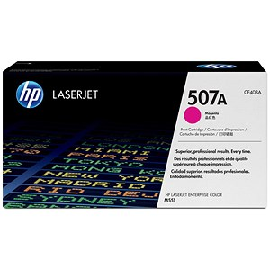 Image of HP 507A Magenta Laser Toner Cartridge