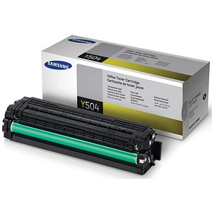 Image of Samsung CLT-Y504S Yellow Laser Toner Cartridge