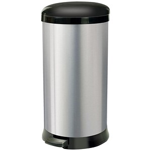 Image of Addis Pedal Bin / Cushion Close / 30 Litre / Stainless Steel