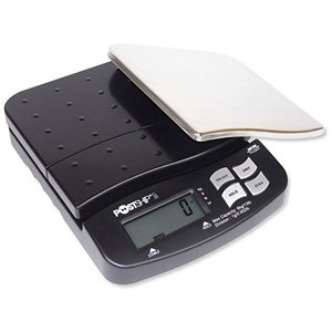 Image of Postship Lite Scale / 1g Increments / Capacity 6kg / Chrome and Black