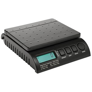Image of Postship Multi Purpose Scale / 5g or 10g Increments / Capacity 34kg / Black