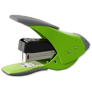 Image of Rexel Easy Touch Quarter Strip Stapler / Capacity: 20 Sheets / Green