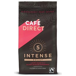 Image of Cafe Direct Fairtrade Rich Roast Ground Coffee - 227g
