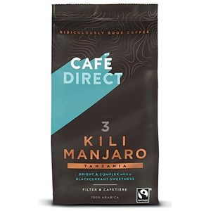 Image of Cafe Direct Fairtrade Kilimanjaro Ground Coffee - 227g