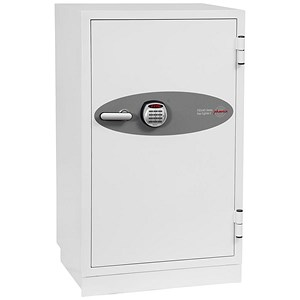 Image of Phoenix Fire Fighter II Safe Electronic Lock 208kg 145 Litre White Ref FS0443E