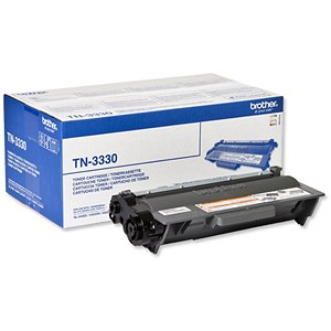 Image of Brother TN3330 Black Laser Toner Cartridge