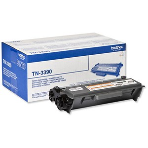 Image of Brother TN3390 Super High Yield Black Laser Toner Cartridge