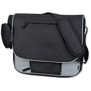 Image of Lightpak Tron Messenger Bag - Grey