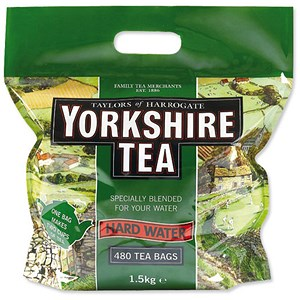 Image of Yorkshire Tea Bags for Hardwater - Pack of 480