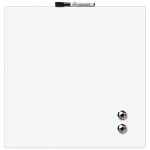 Image of Rexel Square Tile Magnetic Drywipe Board / 360x360mm / White