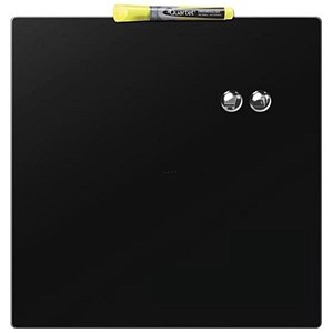 Image of Rexel Square Tile Magnetic Drywipe Board / 360x360mm / Black