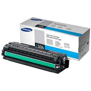 Image of Samsung CLT-C506S Cyan Laser Toner Cartridge