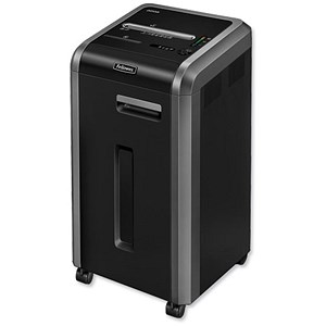 Image of Fellowes 225Mi Shared Workspace Shredder Micro Shred DIN4 P-5 Ref 462210