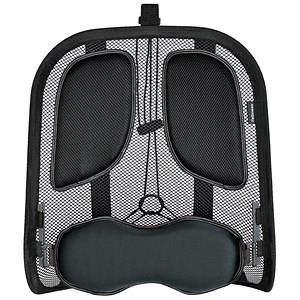 Image of Fellowes Professional Unpadded Mesh Back Support