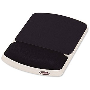 Image of Fellowes Premium Gel Mousepad with Wrist Support - Graphite