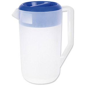 Image of Frosted Polypropylene Jug with Lid - 2.2 Litre