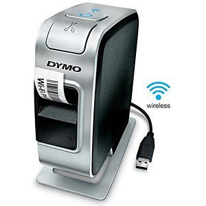 Image of Dymo LabelManager Plug N Play Label Machine Wireless Network Ref S0969040