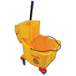 Image of Bentley Hygieneer Ergo Mop Unit / 31 Litre / Yellow