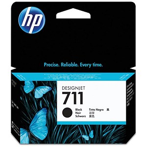 Image of HP 711 Black Ink Cartridge