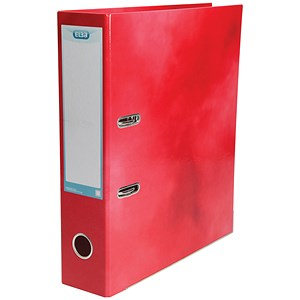 Image of Elba A4 Lever Arch File / Laminated / Red