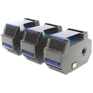 Image of Totalpost Compatible Blue Franking Inkjet Cartridge / Equivalent to FP Optimail 30 / Pack of 3