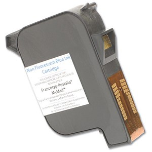 Image of Totalpost Compatible Blue Franking Inkjet Cartridge / Equivalent to FP Mymail Series