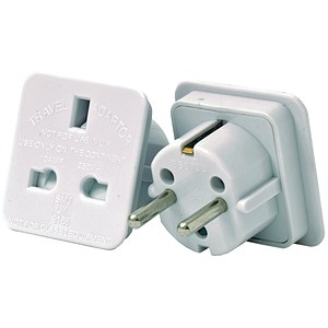 Image of European Travel Adaptor - Pack of 2