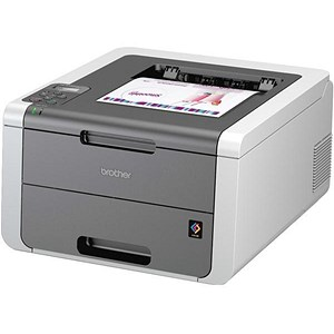 Image of Brother Colour Laser Printer With WiFi Ref HL3140CW