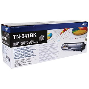 Image of Brother TN241BK Black Laser Toner Cartridge
