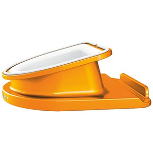 Image of Leitz WOW Desk Stand for iPad - Orange